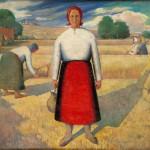 "Казимир Малевич ""Жатва"" 1928-1929"