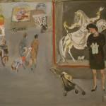 """Натта Конышева """"Невеста на лошади"""" 1974"""