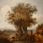 "Семён Щедрин ""Вид в окрестностях озера Неми"" 1776-1778"