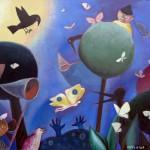 """Евгения Инфелицина """"Охота на бабочку"""" 2015"""
