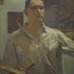 """Герасимов С.В. """"Автопортрет в белой рубашке"""""""