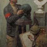 "Гелий Коржев ""Рабочая студия (Гомер)"" 1957–1960"
