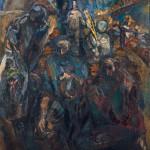 """Калинин В.Г. """"Осень алтайских хлеборобов"""" 1980"""
