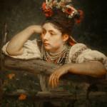 """Илья Репин """"Украинка"""" 1875"""