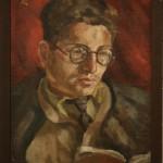 """Л.Цейтлин """"Портрет А.А.Борина"""" 1947"""