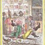 Джеймс Гилрей «Очень скользкая погода» 1808