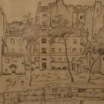 """Мстислав Добужинский """"Пустырь на Васильевском острове"""" 1922"""