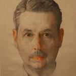 "Константин Сомов ""Автопортрет"" 1921"
