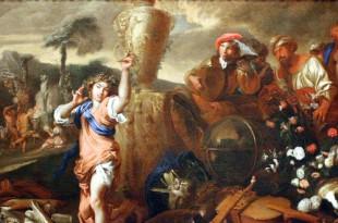 23 марта 1609 года родился Джованни Бенедетто Кастильоне.