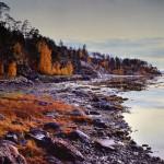 Самат Гильметдинов «Вечерний морской берег после дождя»