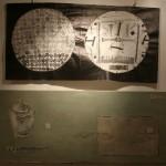 """М.Арендт """"Астигматизм"""" (вышивка) и Н.Арендт """"Натюрморт с очками и сахаром"""" 2015"""