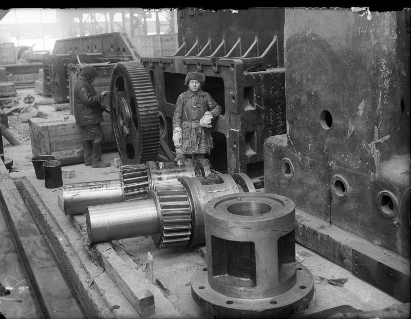 Фотография из архива Музея истории Уралмашзавода. 1930-е годы