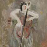 """Юрий Ларин """"Виолончелистка"""" 2009"""