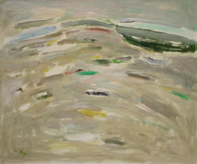 """Юрий Ларин """"Море. песок, залив"""" 2004"""