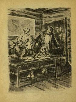 Илл. к рассказу «Старый дед и внучек» Л. Толстого. [М.-Л]., 1944