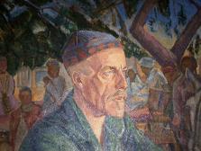 """Юлия Оболенская """"Портрет К.В. Кандаурова"""" 1925"""