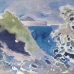 """11. Ларин Юрий """"Джугба"""" 1981 Холст, масло 70,5х80,5"""
