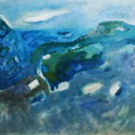 """14. Ларин Юрий """"Полдень у моря"""" 1982 Холст, масло 70х80"""