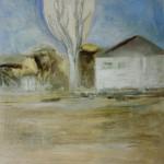 "26. Ларин Юрий ""Абхазская осень"" 1991 Холст, масло 81х81"