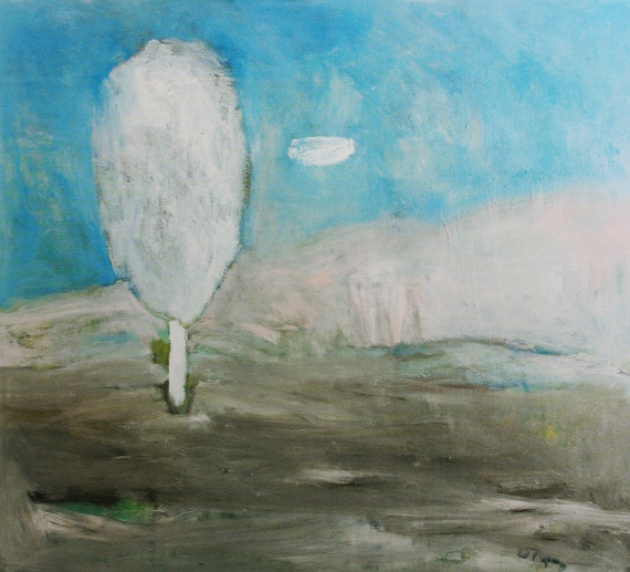 "Юрий Ларин ""Белое дерево"" 1991"