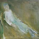 """40. Ларин Юрий """"Таня"""" 1998 Холст, масло 90х105"""