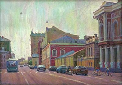 """П.И.Грошев """"Старая Басманная улица"""" 2015"""