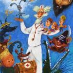 "Александр Храмцов «Доктор Айболит. Иллюстрация к книге Корнея Чуковского"" 2016"
