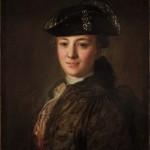 "Ф.С.Рокотов ""Портрет неизвестного в треуголке"" Начало 1770-х"
