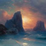 Иван Айвазовский «Кораблекрушение» 1875