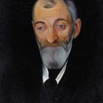 Борис Григорьев «Портрет Льва Шестова»