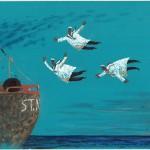 Святослав Ушаков «Догоняют свой пароход» 1997