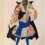 Лев Бакст «Эскиз костюма к балету П.И.Чайковского «Спящая красавица». Волк» 1921