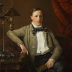 "А.С.Михайлов ""Портрет поэта А.Н. Майкова"" 1840"