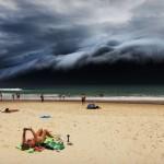 Природа © Rohan Kelly - Storm Front on Bondi Beach