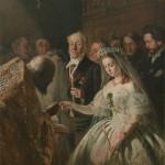 """В.В.Пукирев """"Неравный брак"""" 1862"""