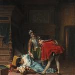"""К.Ф.Гун """"Сцена из Варфоломеевской ночи"""" 1870"""