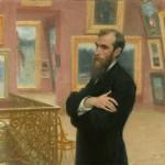 """И.Е.Репин """"Портрет П.М.Третьякова"""" 1901"""