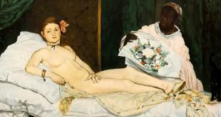 «Олимпия» Эдуарда Мане. Из собрания музея д'Орсэ (Париж).