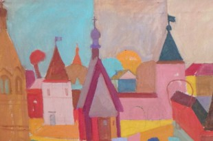 Московские художники – регионам.