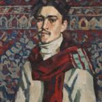 """Виктор Иванов """"Автопортрет"""" 1943"""