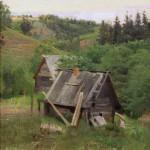 """Исаак Левитан """"Мельница"""" 1888"""