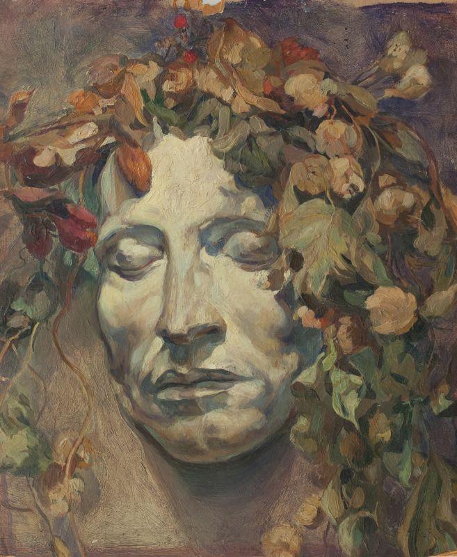 "Николай Шестопалов ""Маска Пушкина"" 1915"