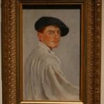 """Лев Бакст """"Автопортрет"""" 1893"""