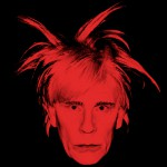 Andy Warhol Self Portrait with Fright Wig (1986), 2014