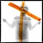 Bert Stern Marilyn Monroe, crucifix II (1962), 2014