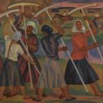 """Виктор Иванов """"Рязанские луга. Из цикла """"Русские женщины"""" 1962-1967"""