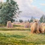 """Альберт Бенуа """"Жатва в Финляндии"""" 1893"""