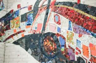 Открытие мозаичного панно «Лоскутное одеяло».
