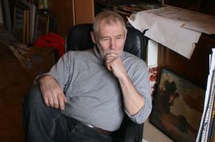 В мастерской художника. Владимир Богачев.