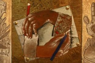Невозможное искусство и оптические иллюзии в технике эмали.
